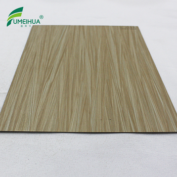 Wood grain texture 1 mm hpl melamina compact laminate