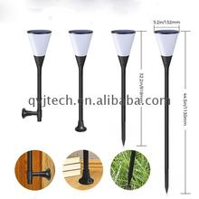 Outdoor Ip67 All In One Buddha Solar Led Garden Light Spike with Flicker Light