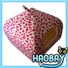 Pink Circle Cute Style Pet Igloo Bed