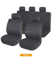 cheap value complete full pack set PU/PVC/leather/polyester car seat cover