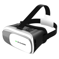 2016 hot sale 2th generation virtual reality VR box version 2 .0 3D glasses fit for 4.0-6.0 inch smartphone