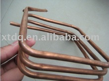 copper square electric heating tube