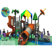 wholesale eco-friendly funny kids combined slide outdoor playground equipment HF-G102B