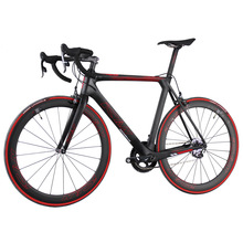 2017 super light customer painting 700x23c tires aero carbon road bike complete