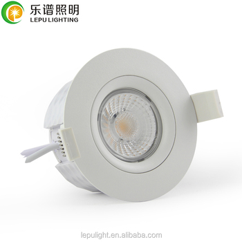 GYRO design dim to warm 2000-2800K 45deg IP44 led downlight housing