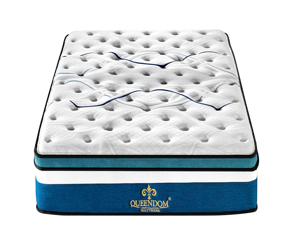 hot sale luxury compressed foam topper commercial comfortable spring mattress - Jozy Mattress | Jozy.net