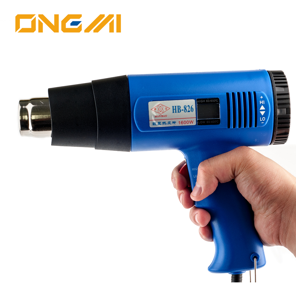 Large Outdoor Temperature Led Display Hot Air Gun