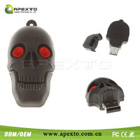 Hot and Cheap skull usb usb great for Promotional present like virile USB
