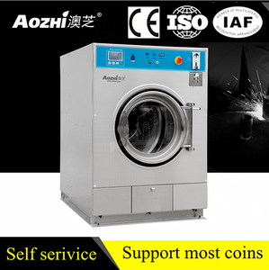 ISO CE high quality laundromat equipment laundry coin washer and dryer commercial coin operated dryers
