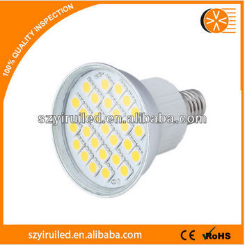 ce rohs new patent led spotlight e27 led base aluminium casing