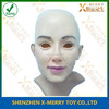 X-MERRY Adult beauty 007 Young Lady Bald Head and Make Up Halloween Latex Rubber Adult Fancy Dress Mask