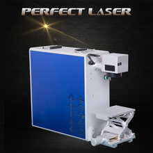 Desktop Portable With Rotary Function Fiber Laser Marker For Metal Ring,Name Plate