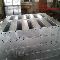 light duty hot dip galvanized steel structure