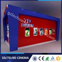 Vivid Effect 7D Cinema System 8D Theater 4D 5D 6D 7D Cinema