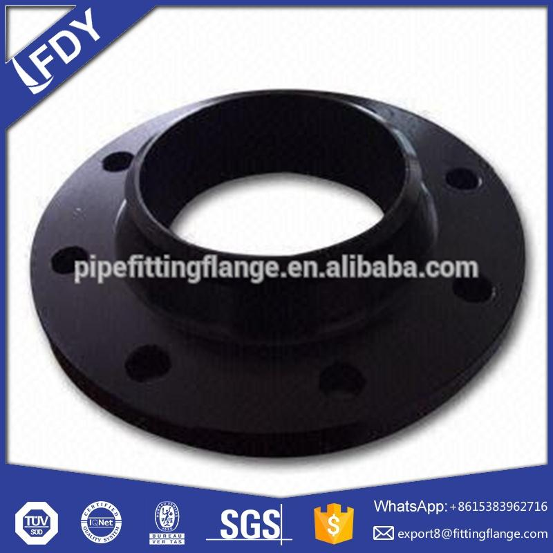Pipe expansion joint with stainless steel flange