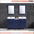 Frost Tempered glass top bathroom vanity T9315-60B