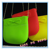 famous silicone bag women ladies silicone bag for promotional gift