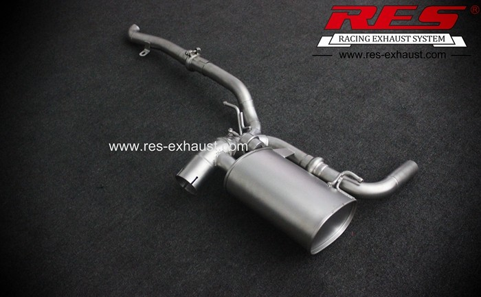 Best price gr2 titanium tail section exhaust pipe for Benz GL350 GL550 2013 year