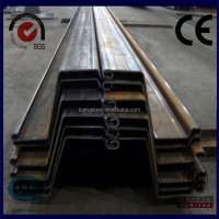 EN U type hot rolled steel sheet pile