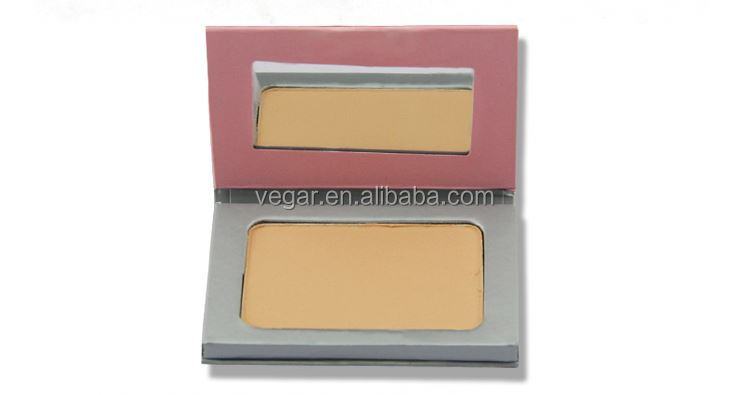 best compact face powder private brand make up powder with mirror portable travel