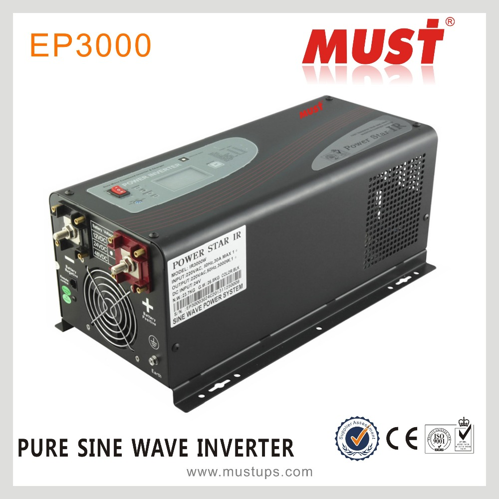 Off grid DC to AC pure sine wave transformer 5kw 12v 220v power inverter