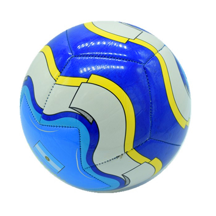 Hot sell delicate multicolor star picture soccer ball