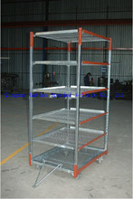 Display Flower Trolley.Danish Mesh Trolley.Garden Tool Cart, Steel Roll Trolley Tool cart