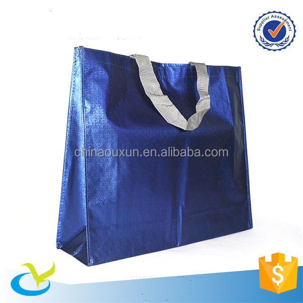 film metal lamination nonwoven handled bag