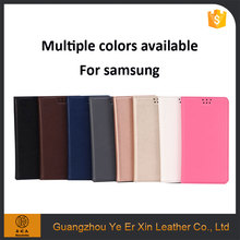 Best quality scratch free sample custom TPU leather phone case for samsung S6 S7