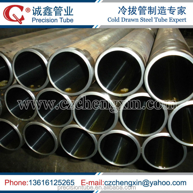 DIN2391-2 ST52 seamless honed tube for hydraulic cylinder