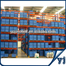 High quality rolled material selective pallet racking