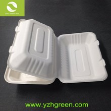 China Green Disposable Biodegradable Bagasse Tableware
