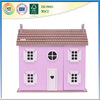 Prefabricated wooden doll house for your cute baby's toy