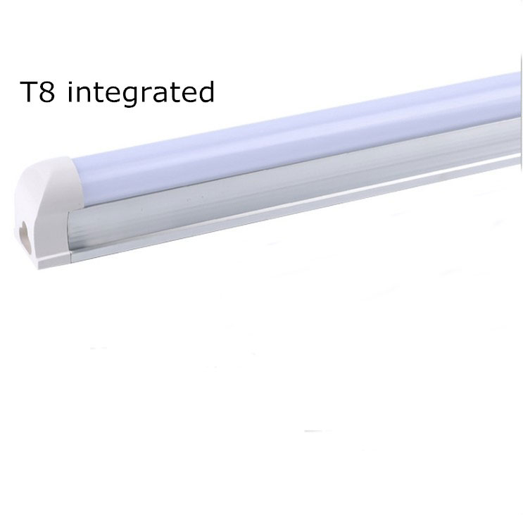 led 9w T8 tube light integrated dimmable house home living room bedroom restaurant high lumen hotel linear lighting aluminum