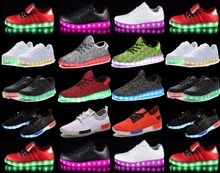 Paris new future fashion led shoes
