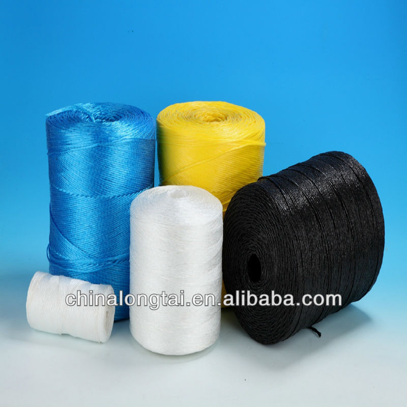 low elastic polyester rope pp twine with gold and silver yarn