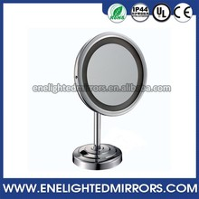 5X magnifying swivel double sided table mirror smart fashion table make up mirror
