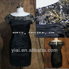 RSE42 Mother Of The Bride Evening Sequins Beaded Dresses