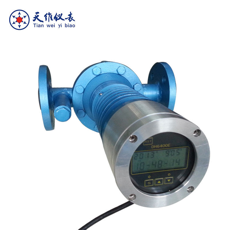 LC pulse output fuel oil flow meter