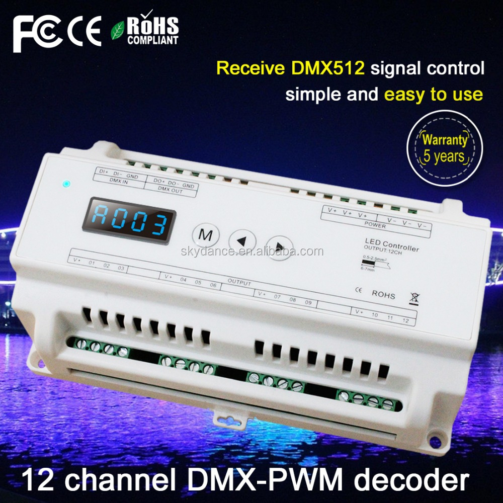 good price 12 channel dmx light controller