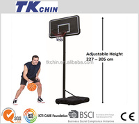 CE certificated plastic basketball hoop backboard