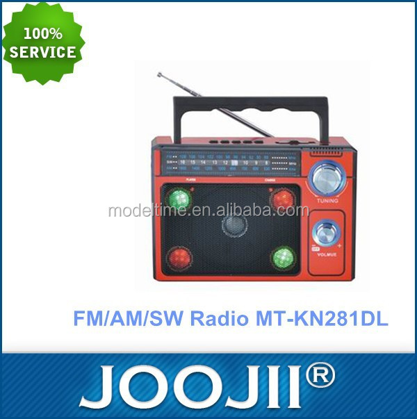 OEM AM FM SW Portable Radio with Karaoke function