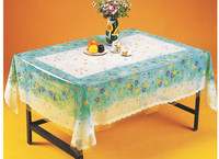 TY-3625 Transparent embossed tablecloth