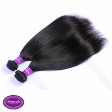Silky Straight Malaysian Human Hair Pieces