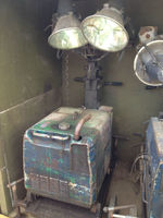 Diesel Generator with Lights