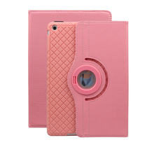 Lightweight Stand PU Leather 360 Degree Rotating Case Cover for iPad Air1 2