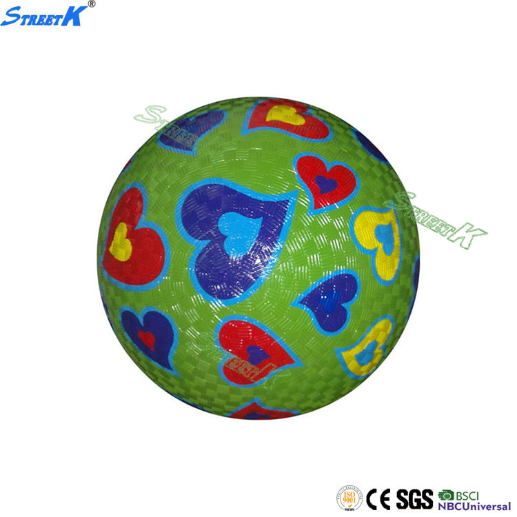 newest Wholesale high quality custom rubber playground balls soft high density rubber ball