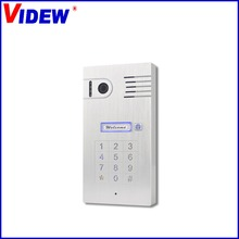 Wireless IP video intercom system , smart phone video unlock alarm system by android and ISO device WiFi Doorbell