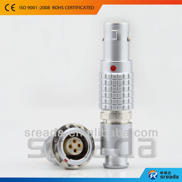 compatible LEMO Self-locking metal plugs