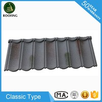 Wholesale Classic stone coated roof tile,colorful stone-coated metal roofing tiles with low price